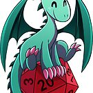 D&D - Dragons and Dice! (Green Dragon) by kickgirl