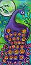 Purple Peacock by Juli Cady Ryan