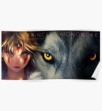 Princess Mononoke Movie Poster Poster