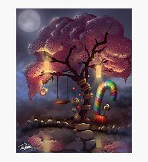 Candy Wonderland Tree Photographic Print