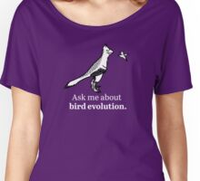 Ask Me About Bird Evolution Women's Relaxed Fit T-Shirt