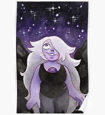 Steven Universe Amethyst - I will fight for the World I Was Made in Poster