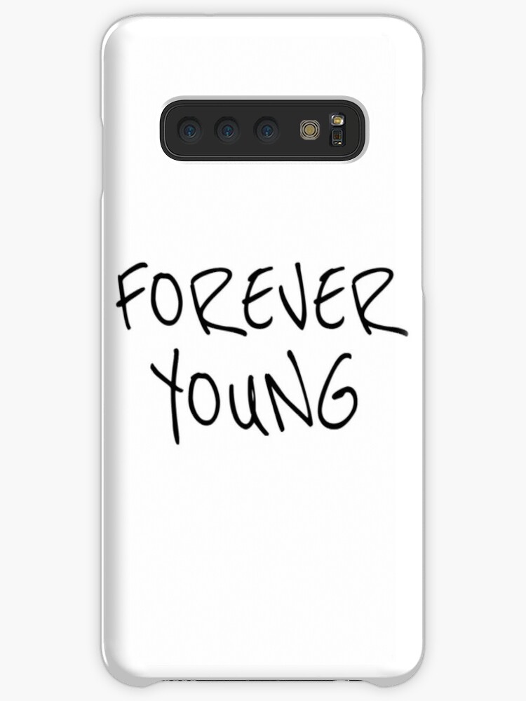 'Bob Dylan Music Song Lyrics Forever Young Neil Young Folk Protest Hippie'  Case/Skin for Samsung Galaxy by Sid3walk Art