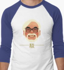 miyazaki Men's Baseball ¾ T-Shirt