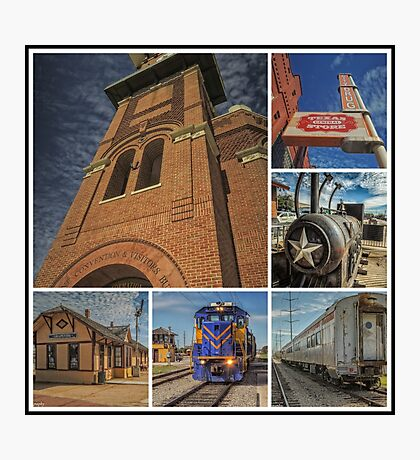 A Tribute to Grapevine Texas Photographic Print
