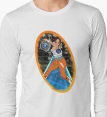 Portal - Chell & Wheatley Long Sleeve T-Shirt