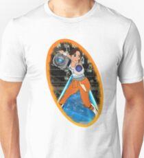 Portal - Chell & Wheatley Unisex T-Shirt