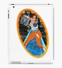 Portal - Chell & Wheatley iPad Case/Skin