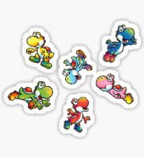 Yoshi island stickers Sticker