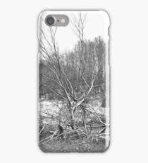 B&W Landscape iPhone Case/Skin