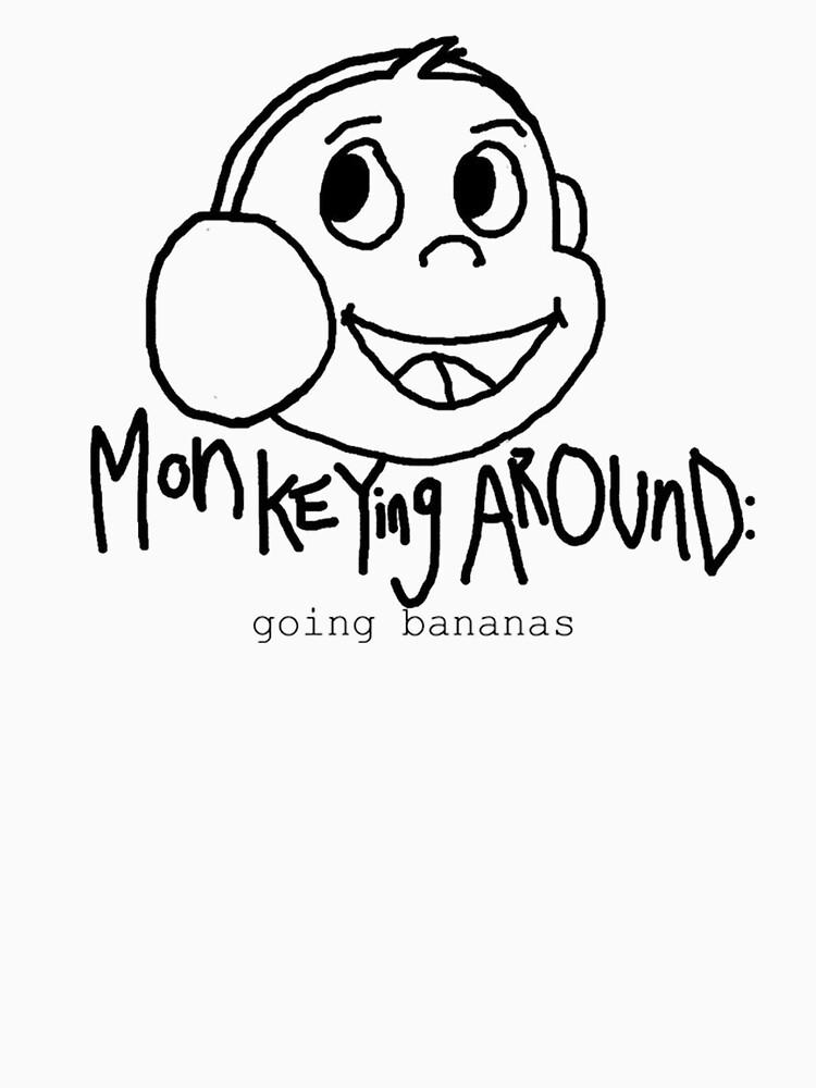 Monkeying Around: Going bananas by Kangshu