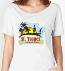 St. Tropez, French Women's Relaxed Fit T-Shirt