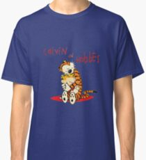 Calvin and Hobbes Big Hugs Classic T-Shirt