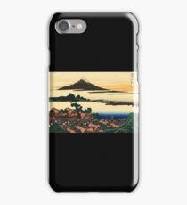 'Dawn at Isawa in the Kai Province' by Katsushika Hokusai (Reproduction) iPhone Case/Skin