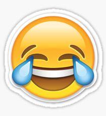 Crying laughing emoji Sticker