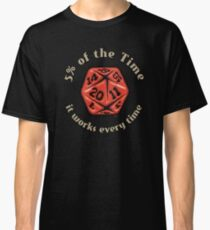 D&D Tee - 5 Percenter Classic T-Shirt