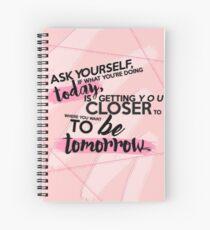 Cuaderno de espiral ASK YOURSELF.