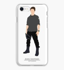 Stargate Atlantis - Minimalist Sheppard iPhone Case/Skin