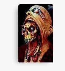 Unmasked Evil  Canvas Print