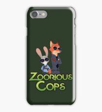 Zoorious Cops (Serious Cops) iPhone Case/Skin