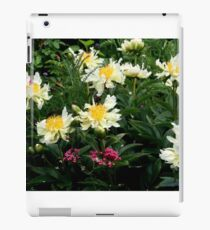 Green Lotus Peony iPad Case/Skin