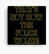 Star Wars Quote Han Solo Canvas Print