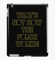 Star Wars Quote Han Solo iPad Case/Skin
