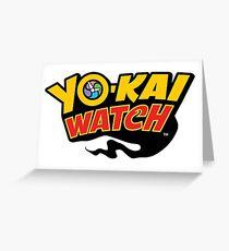 Yo-kai Watch Greeting Card