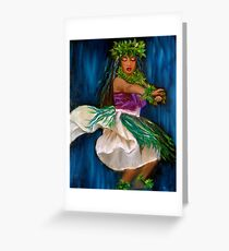 Merrie Monarch Hula Greeting Card