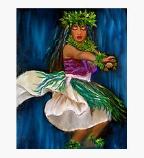 Merrie Monarch Hula Photographic Print