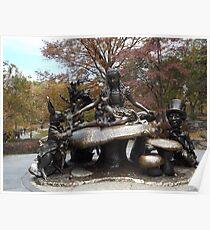 Alice In Wonderland Statue, Central Park, New York City Poster