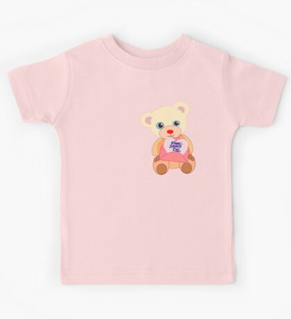 Teddy with mother's day message (5773 views) Kids Clothes