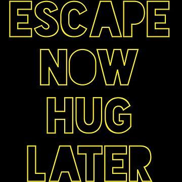 Star Wars: Escape now, hug later by zkramer