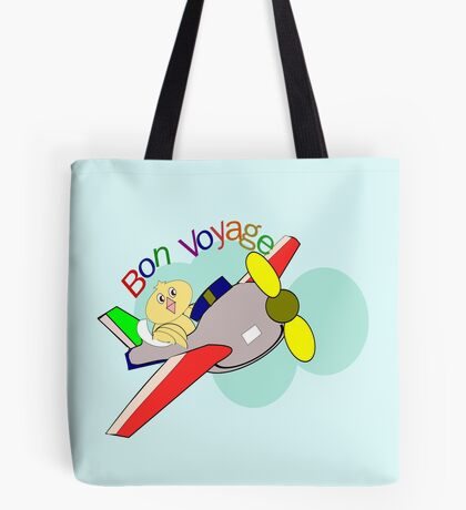 jet- Bon Voyage (6280 Views) Tote Bag