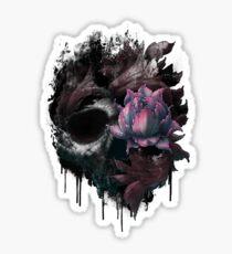 Death Blooms Sticker