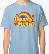 Funny Heavy Metal Rainbow Classic T-Shirt