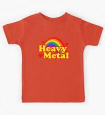 Funny Heavy Metal Rainbow Kids Tee