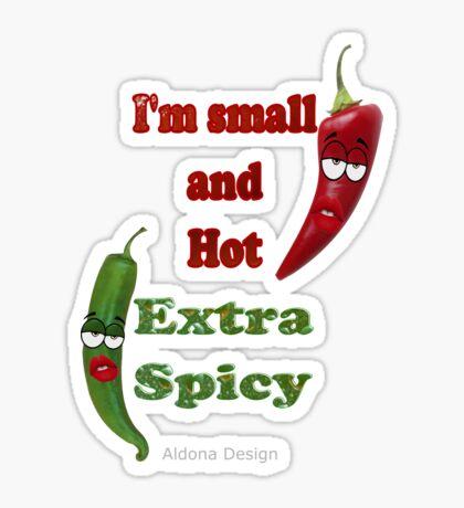 Extra Hot & Spicy (6481 views) Sticker