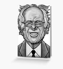 Bernie Caricature Greeting Card
