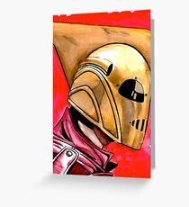 Rocketeer Greeting Card