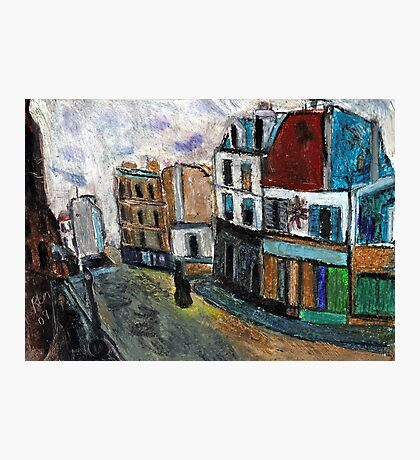 City Square(after Utrillo) Photographic Print