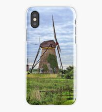 The Mills of Kinderdijk iPhone Case