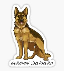 Shepherd Love  Sticker