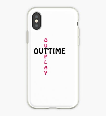 outtime / outplay iPhone Case