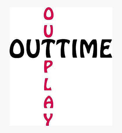 outtime / outplay Photographic Print