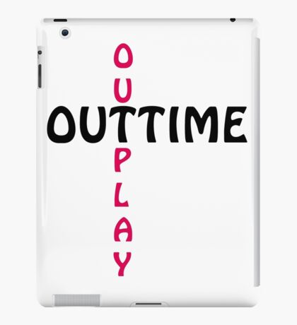 outtime / outplay iPad Case/Skin