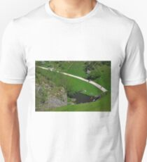 Dovedale Footpath from Thorpe Cloud T-Shirt