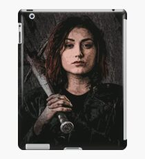Z nation - Addison portrait iPad Case/Skin