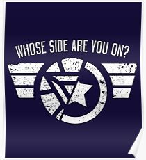 Who's side are you on? Poster