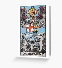 Tarot Card - Judgement Greeting Card